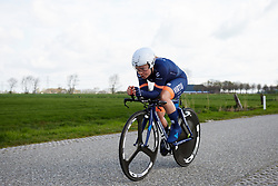 Emilie Moberg (NOR) at Healthy Ageing Tour 2019 - Stage 4A, a 14.4km individual time trial starting and finishing in Winsum, Netherlands on April 13, 2019. Photo by Sean Robinson/velofocus.com