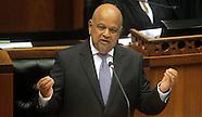 Cape Town - Pravin Gordhan Gives National Budget Speech - 24 Feb 2016
