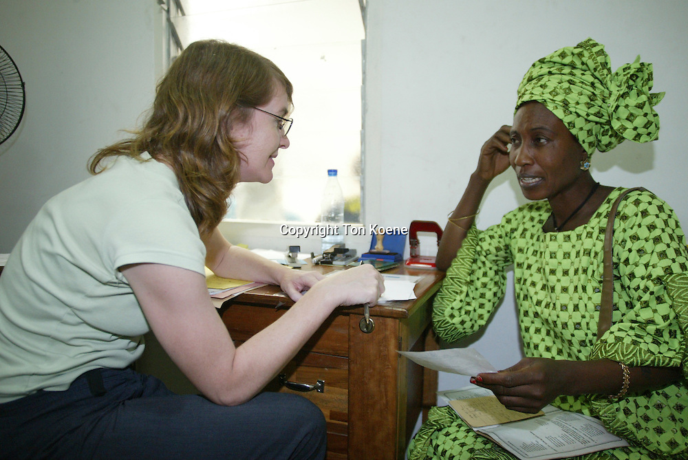 Aids clinic in Nigeria