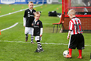 Lincoln City Mascots during the EFL Sky Bet League 2 match between Lincoln City and Crawley Town at Sincil Bank, Lincoln, United Kingdom on 28 October 2017. Photo by Mick Haynes.