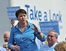 Ruth Davidson on the campaign  trail | Perth | 27 May 2017