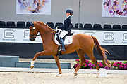 Jeanine Nieuwenhuis - Genua TC<br /> WK Selectie Jonge Dressuurpaarden 2017<br /> © DigiShots