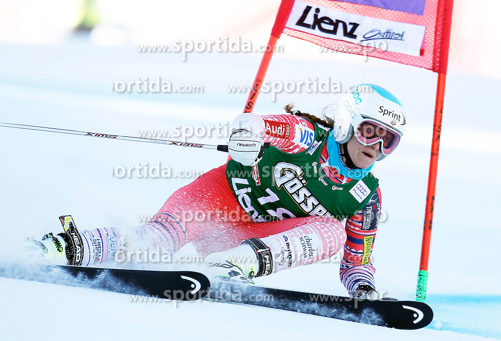 28.12.2013, Hochstein, Lienz, AUT, FIS Weltcup Ski Alpin, Damen, Riesenslalom 2. Durchgang, im Bild Julia Mancuso (USA) // Julia Mancuso of (USA) during ladies Giant Slalom 2 nd run of FIS Ski Alpine Worldcup at Hochstein in Lienz, Austria on 2013/12/28. EXPA Pictures © 2013, PhotoCredit: EXPA/ Oskar Höher