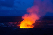 Halemaumau Crater, Kilauea Volcano, HVNP, Big Island of Hawaii
