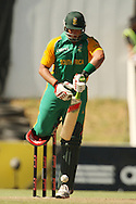 Jacques Kallis during the first Sunfoil ODI between the Proteas and Sri Lanka played at Boland Stadium in Paarl, South Africa on 11 January 2012. Photo by Jacques Rossouw/SPORTZPICS