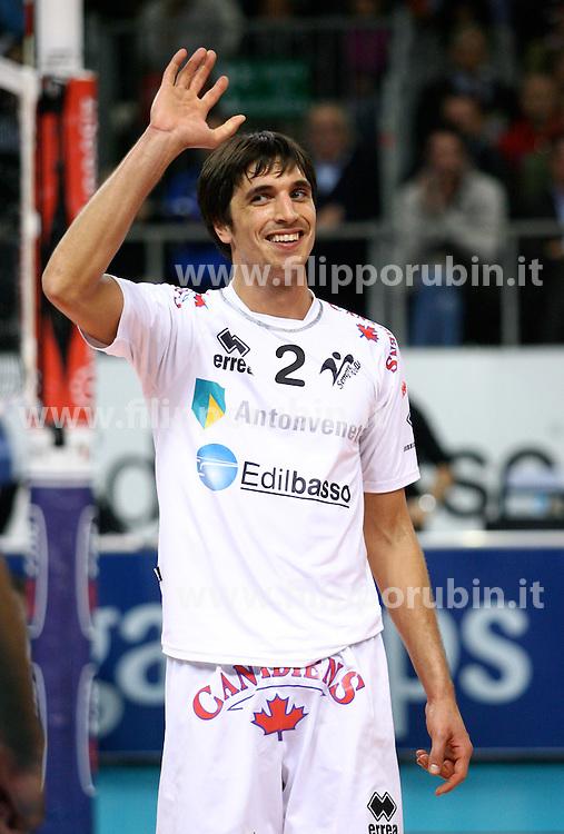 Giorgio De Togni  .Semprevolley Padova - Cimone Modena.Campionato volley A1 M 07-08.Foto Galbiati - Rubin