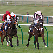 Vodka Time and Tom Queally winning the 2.20 race