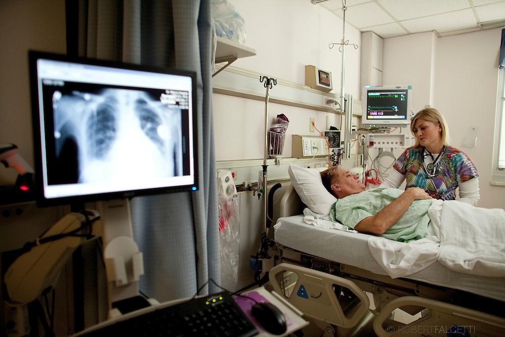 2011 Quality Campaign,  Saint Mary's Hospital. Emily McMahon, CVU cove. (Photo by Robert Falcetti)