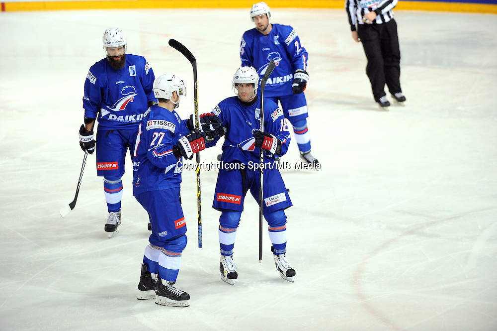 Joie Yohann AUVITU - 24.04.2015 - France / Suisse - Match Amical -Grenoble<br />