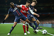 231116 Arsenal v Paris Saint Germain