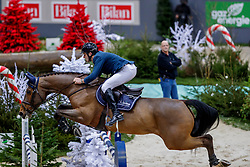 MUFF Werner (SUI), Varennes d'Argonne<br /> Genf - CHI Geneve Rolex Grand Slam 2019<br /> Prix des Vins de Genève<br /> Internationales Springen Fehler/Zeit<br /> International Jumping Competition 1m45<br /> Table A: Against the Clock<br /> 12. Dezember 2019<br /> © www.sportfotos-lafrentz.de/Stefan Lafrentz