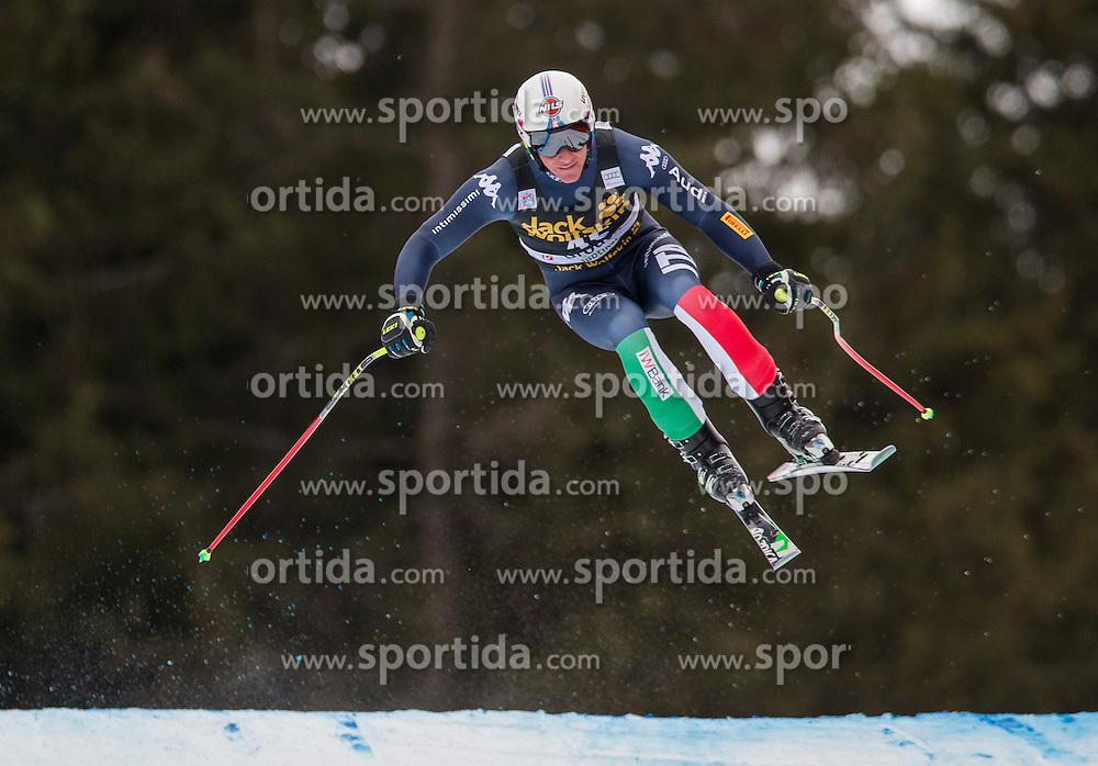16.12.2015, Saslong, Groeden, ITA, FIS Ski Weltcup, Herren, Abfahrt, 1. Training, im Bild Siegmar Klotz (ITA) // Siegmar Klotz of Italy in action 1st downhill practice of the Groeden FIS Ski Alpine World Cup at the Saslong Course in Gardena, Italy on 2015/12/16. EXPA Pictures © 2015, PhotoCredit: EXPA/ Johann Groder