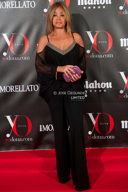 Begona Garcia Vaquero attends 'Yo Dona' Magazine's Mask Party at Casino on 18 February, 2013 in Madrid