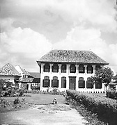 National Archives of Indonesia Building (Gedung Arsip Nasional) 2013. The former house of R. de Klerk (1777-1780). Jakarta - Indonesia.