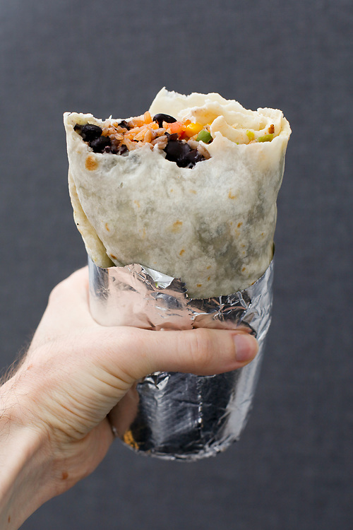 Veggie Black Bean Burrito from Dos Toros ($9.50)