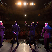 The Searchers take the applause after their show at Theatre Royal Wakefield.