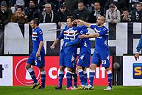 Mauro Icardi esultanza , goal celebration , Sampdoria .Calcio Juventus vs Sampdoria.Serie A - Torino 06/1/2013 Juventus Stadium .Football Calcio 2012/2013.Foto Federico Tardito Insidefoto.