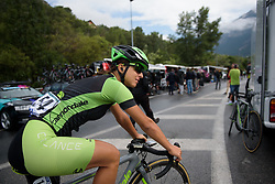 Rossella Ratto ahead of  La Course 2017 - a 67.5 km road race, from Briancon to Izoard on July 20, 2017, in Hautes-Alpes, France. (Photo by Sean Robinson/Velofocus.com)