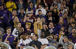 LSU Fans an NCAA college football game Thursday, Nov. 24, 2016, in College Station, Texas. (Sam Craft/The Eagle)