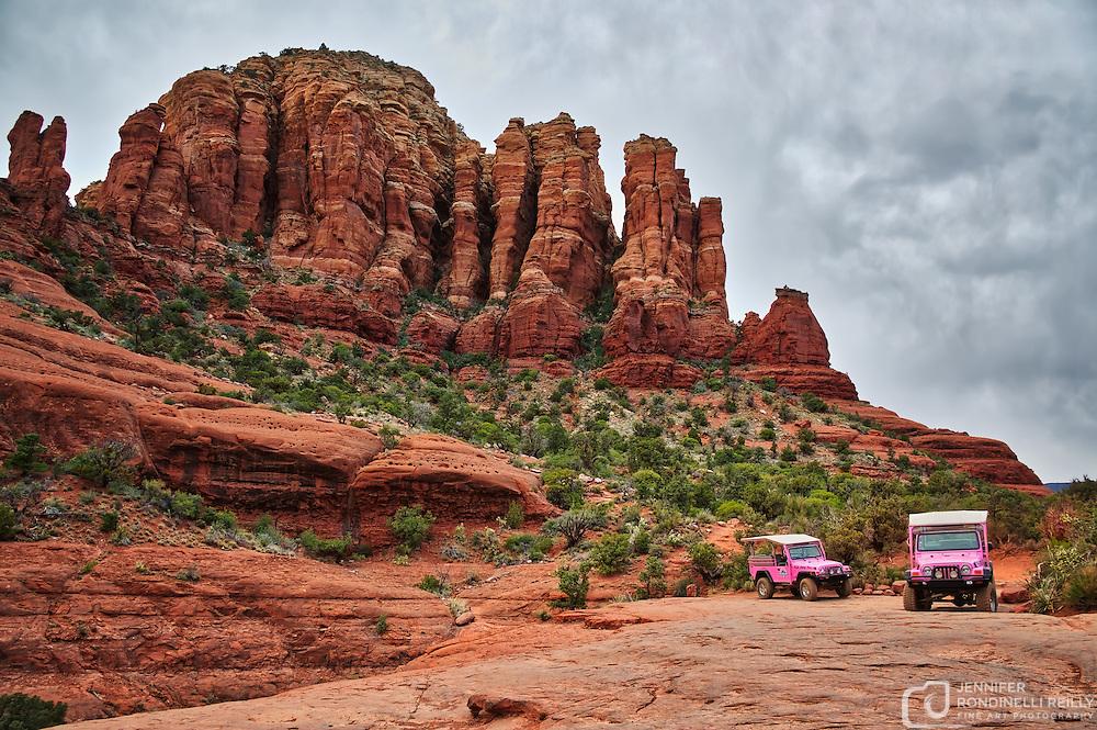 Photo taken on the Pink Jeep Tour in Sedona, AZ.
