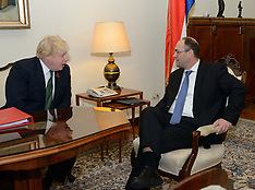 British Foreign Secretary Boris Johnson visits Croatia, 9 Nov. 2016