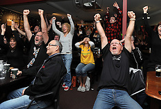 Napier-All Black supporters celebrate World Cup win