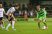 Forest Green Rovers Elliott Frear (11) on the ball during the Vanarama National League match between Forest Green Rovers and Eastleigh at the New Lawn, Forest Green, United Kingdom on 13 September 2016. Photo by Shane Healey.