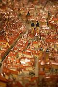 Das berühmte Prag Modell von Antonin Langweil im Prager Stadtmuseum.