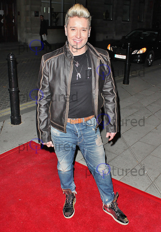 LONDON - October 16: Andrew Stone at the Flash Mob VIP Night (Photo by Brett D. Cove)