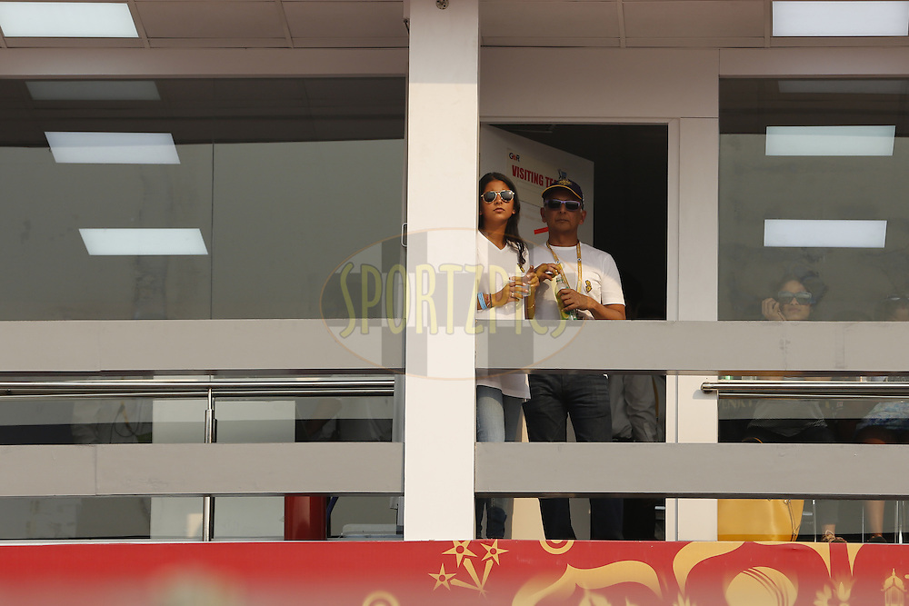 Jay Mehta kolkata knight Riders owner during match 26 of the Vivo IPL ( Indian Premier League ) 2016 between the Delhi Daredevils and the Kolkata Knight Riders held at The Feroz Shah Kotla Ground in Delhi, India,  on the 30th April 2016<br /> <br /> Photo by Arjun Singh / IPL/ SPORTZPICS