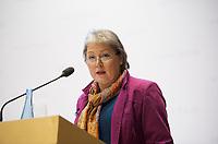 DEU, Deutschland, Germany, Berlin, 12.11.2012:<br />Die Historikerin Dr. Heike Christina Mätzing während einer Rede bei einer Veranstaltung der Friedrich-Ebert-Stiftung Berlin.