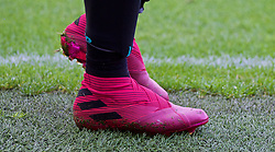 SHEFFIELD, ENGLAND - Thursday, September 26, 2019: The pink boots of Liverpool's Roberto Firmino during the FA Premier League match between Sheffield United FC and Liverpool FC at Bramall Lane. (Pic by David Rawcliffe/Propaganda)