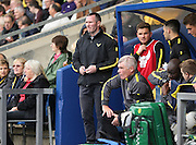 Michael Appleton during the Sky Bet League 2 match between Oxford United and AFC Wimbledon at the Kassam Stadium, Oxford, England on 10 October 2015.