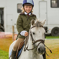 Jack Conlon-Gateu from Feakle taking part in the showjumping at the Scarriff Agricultural Show 2014