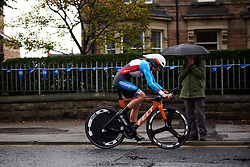 Gillian Ellsay (CAN) at UCI Road World Championships 2019 Elite Women's TT a 30.3 km individual time trial from Ripon to Harrogate, United Kingdom on September 24, 2019. Photo by Sean Robinson/velofocus.com