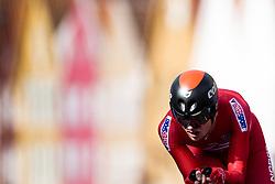 September 20, 2017 - Bergen, NORWAY - 170920 Andreas Vangstad of Norway competes during the Men Elite Individual Time Trial on September 20, 2017 in Bergen..Photo: Jon Olav Nesvold / BILDBYRÃ…N / kod JE / 160023 (Credit Image: © Jon Olav Nesvold/Bildbyran via ZUMA Wire)