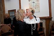 KAY SAATCHI; AMANDA ELIASCH, AN EVENING SALON OF ART, POETRY AND BURLESQUE . The Opera Quarter Bar & Supper Club. COVENT GARDEN. London. 28 July 2009