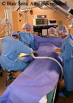 Medical Surgeons in Scrubs,