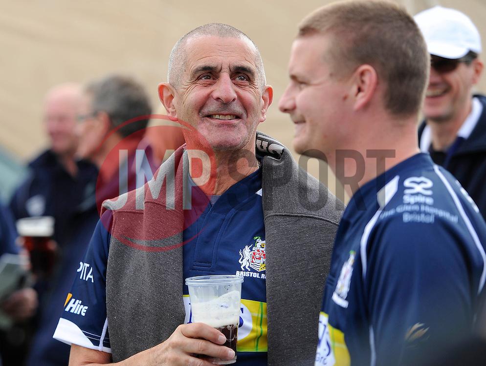 Fans enjoy the World cup village before the game  - Mandatory byline: Joe Meredith/JMP - 07966386802 - 04/10/2015 - RUGBY - Ashton Gate -Bristol,England - Bristol Rugby v Rotherham Titans - Greene King IPA Championship