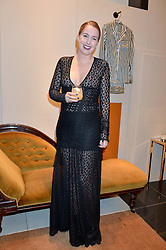 OLIVIA VON HALLE at a party to celebrate the launch of Olivia von Halle, 151 Sloane Street, London on 25thNovember 2015