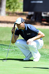 April 12, 2018 - Hilton Head Island, South Carolina, U.S. - HILTON HEAD ISLAND, SC - APRIL 12: Martin Kaymer,  during the first round of the RBC Heritage on April 12, 2018 at Harbour Town Golf Links in Hilton Head Island, SC. (Photo by Theodore A. Wagner/Icon Sportswire) (Credit Image: © Theodore A. Wagner/Icon SMI via ZUMA Press)