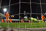 Cedwyn Scott of Dundee scores his second goal of the match - Dundee United v Dundee, SPFL Under 20 Development League at Tannadice Park, Dundee<br /> <br />  - &copy; David Young - www.davidyoungphoto.co.uk - email: davidyoungphoto@gmail.com