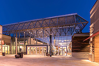Exterior image of the Lululemon at the Mall In Columbia in MD by Jeffrey Sauers of Commercial Photographics, Architectural Photo Artistry in Washington DC, Virginia to Florida and PA to New England