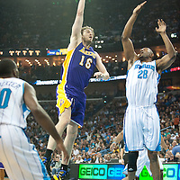 LOS ANGELES LAKERS VS NEW ORLEANS HORNETS 12.29.2010