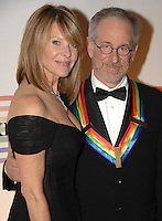 Kate Capshaw and Steven Spielberg<br />