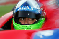 Dario Franchitti at the Texas Motor Speedway, Bombardier Learjet 500, June 11, 2005