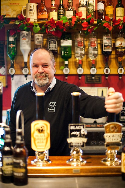 Alan Dunn a Head Brewer at the Black Sheep Brewery in North Yorkshire