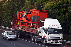 Auckland-Over height load sidelined on Southern Motorway