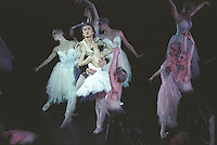 Ivan Putrov and Roberta Marquez in Swan Lake. Royal Ballet
