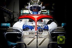 May 25, 2019 - Monte Carlo, Monaco - #77 VALTTERI BOTTAS (FIN, Mercedes AMG Petronas Motorsport) sits in cockpit during qualifying for FIA Formula One World Championship 2019, Grand Prix of Monaco. Hamilton took pole ahead of Bottas. (Credit Image: © Hoch Zwei via ZUMA Wire)